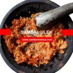 Resep & Cara Membuat Sambal Ulek Sederhana